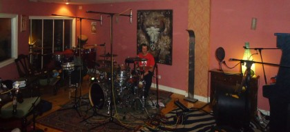 gatillazo panoramica drums tripi