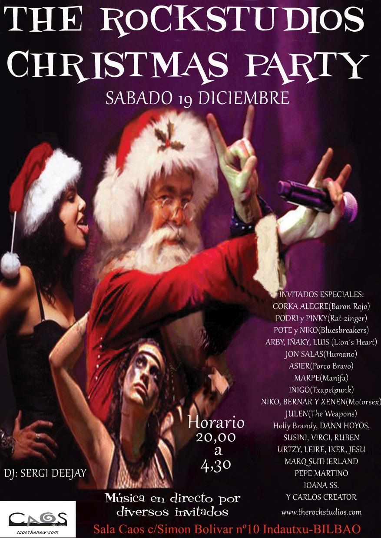 THE ROCKSTUDIOS Christmas Party 2015